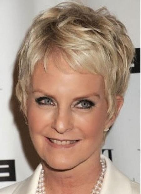 Featured Photo of Short Hairstyles For Mature Women
