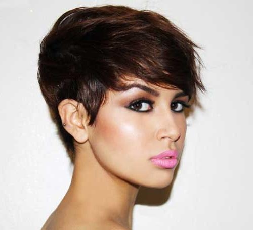 35 Short Haircuts For Thick Hair | Short Hairstyles 2016 – 2017 For Short Hairstyles For Very Thick Hair (View 6 of 20)