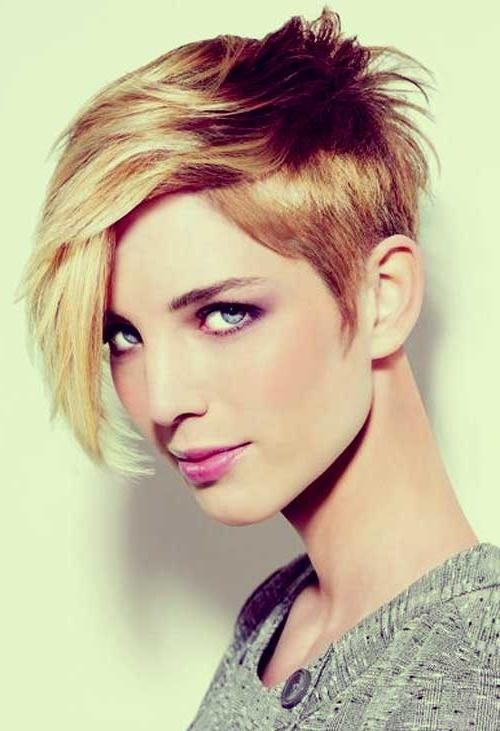 35 Short Haircuts For Thick Hair | Short Hairstyles 2016 – 2017 Inside Short Hairstyles For Very Thick Hair (View 8 of 20)