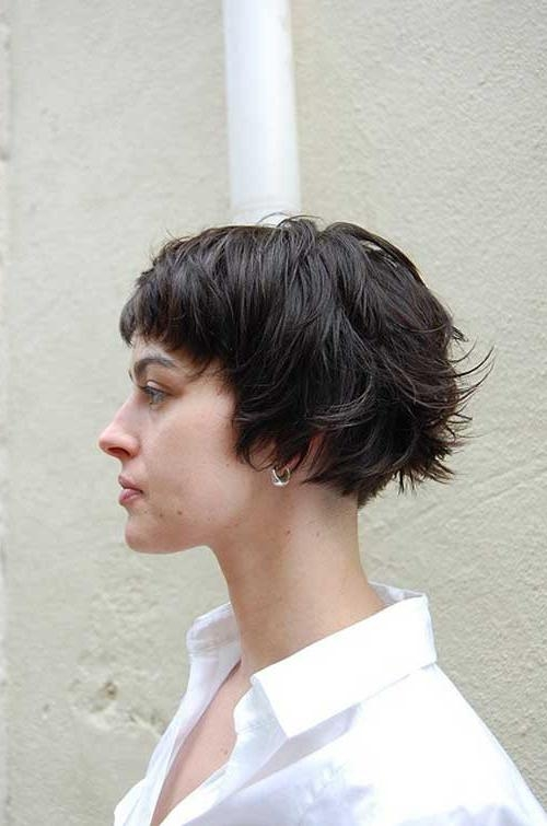 35 Short Haircuts For Thick Hair | Short Hairstyles 2016 – 2017 With Regard To Short Hairstyles For Very Thick Hair (View 9 of 20)