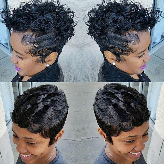 360 Best Cute Styles ~ Fingerwaves & Soft Curls Images On In Soft Short Hairstyles For Black Women (View 11 of 20)