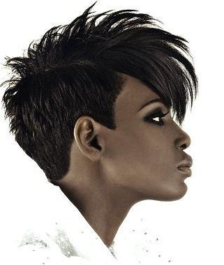 38 Best Short Hair Styles Images On Pinterest | Hairstyles, Boy Within Edgy Short Haircuts For Black Women (View 6 of 20)