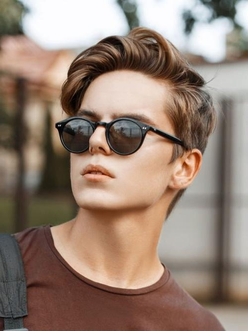 40 Favorite Haircuts For Men With Glasses: Find Your Perfect Style Inside Short Hairstyles For Glasses Wearers (View 5 of 20)