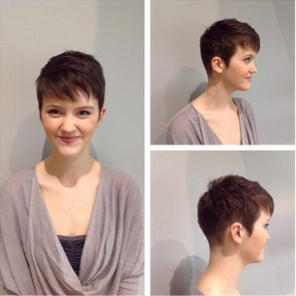 40 Pretty Short Haircuts For Women: Short Hair Styles Pertaining To Short Haircuts For Curvy Women (View 8 of 20)