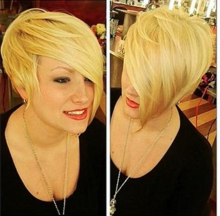 40 Pretty Short Haircuts For Women: Short Hair Styles With Regard To Asymmetric Short Haircuts (View 14 of 20)