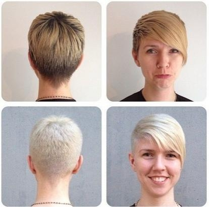 40 Pretty Short Haircuts For Women: Short Hair Styles With Very Short Haircuts With Long Bangs (View 3 of 20)