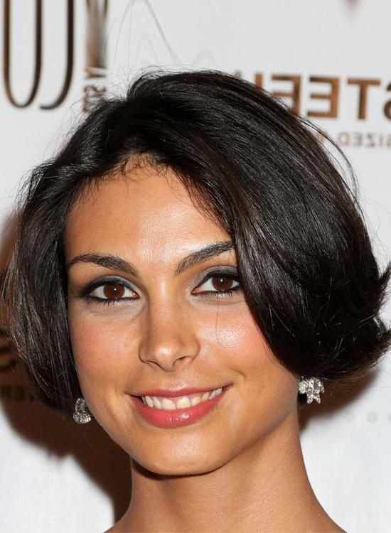 40 Very Short Hairstyles That You Should Definitely Try Regarding Center Part Short Hairstyles (View 17 of 20)