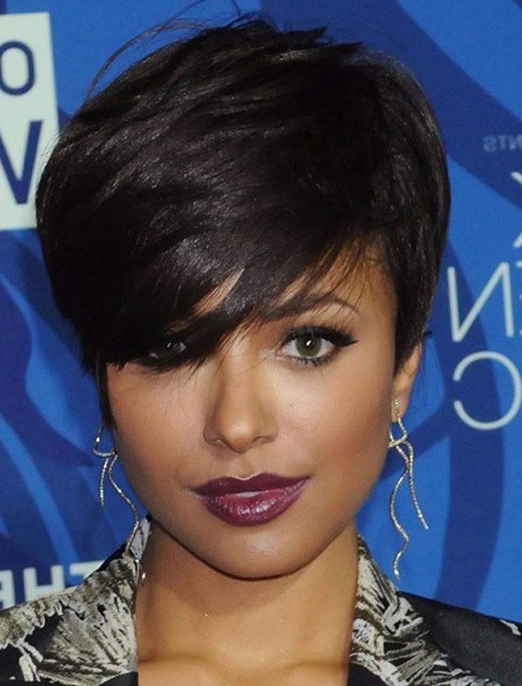 45 Ravishing African American Short Hairstyles And Haircuts | Page With African Short Haircuts (View 5 of 20)