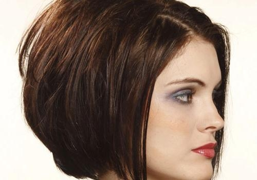 46 Enticing Short Bob Hairstyles For 2013 – Creativefan With Regard To Short Haircuts For Curvy Women (View 10 of 20)