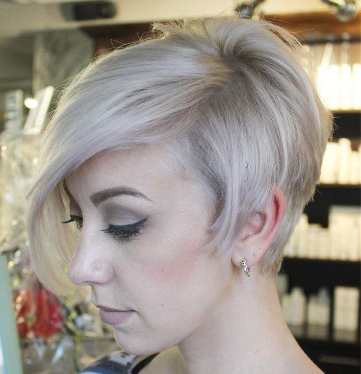 467 Best Short Blonde/coloured Haircuts Images On Pinterest With Ash Blonde Short Hairstyles (View 10 of 20)