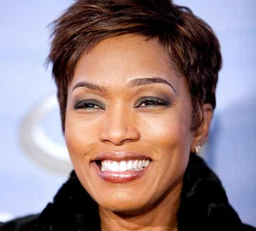 5 Beautiful Short Haircuts For Round Faces African American – Cruckers Within Short Haircuts For Round Faces African American (View 4 of 20)