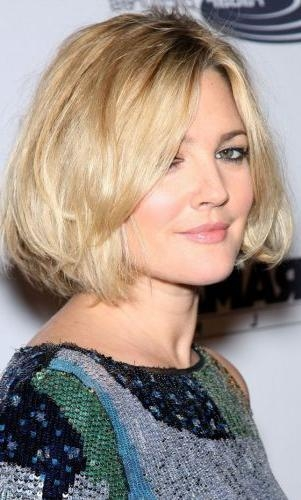 5 Textured Blonde Bob Hairstyles (sexy Cut With Lots Of Movement Within Drew Barrymore Short Hairstyles (View 13 of 20)