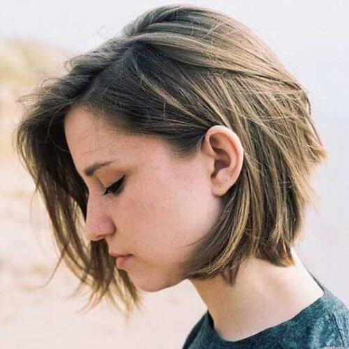 50 Alluring Short Haircuts For Thick Hair | Hair Motive Hair Motive Intended For Short Haircuts Bobs Thick Hair (View 16 of 20)