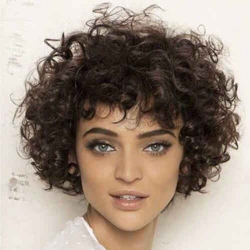 50 Alluring Short Haircuts For Thick Hair | Hair Motive Hair Motive Pertaining To Short Haircuts For Thick Curly Frizzy Hair (View 4 of 20)