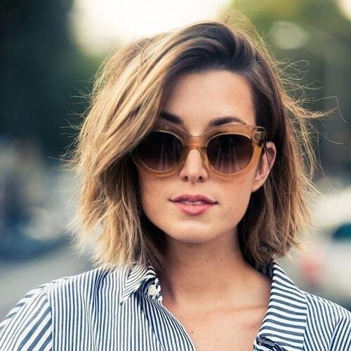 50 Alluring Short Haircuts For Thick Hair | Hair Motive Hair Motive With Low Maintenance Short Hairstyles (View 5 of 20)