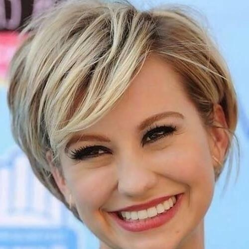 50 Alluring Short Haircuts For Thick Hair | Hair Motive Hair Motive With Short Haircuts For Round Faces And Thick Hair (View 10 of 20)