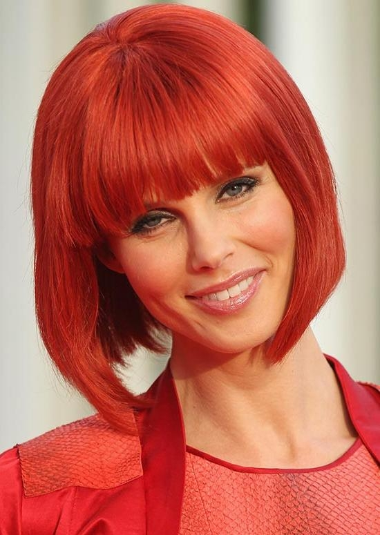 2019 latest short haircuts with red hair