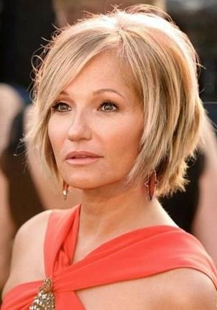 50 Best Short Hairstyles For Women Over 50 | Herinterest/ Pertaining To Short Haircuts For Women In Their 50S (View 6 of 20)