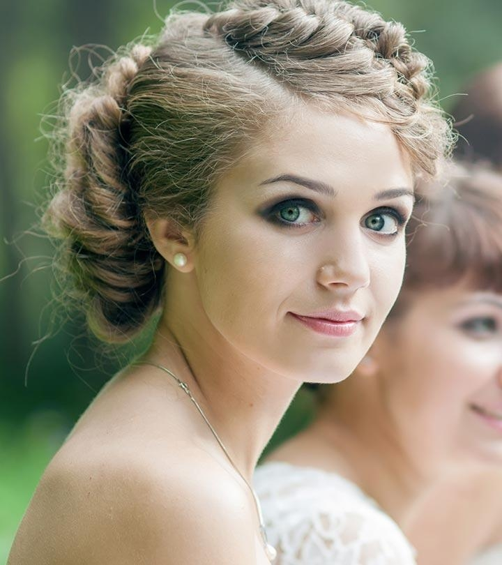 50 Bridesmaid Hairstyles For Short Hair Within Short Hairstyles For Bridesmaids (View 9 of 20)