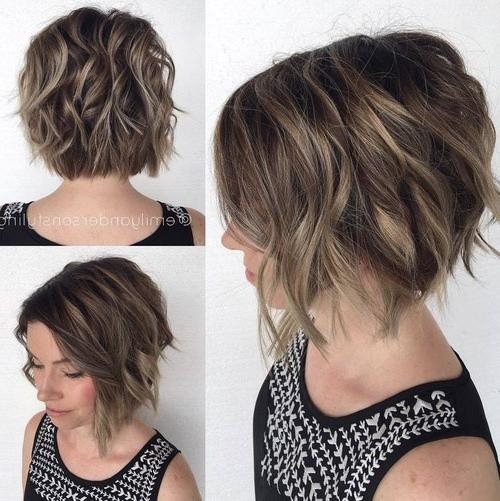 50 Classy Short Hairstyles For Thick Hair | The Fashionaholic Throughout Short Haircuts Bobs Thick Hair (View 9 of 20)