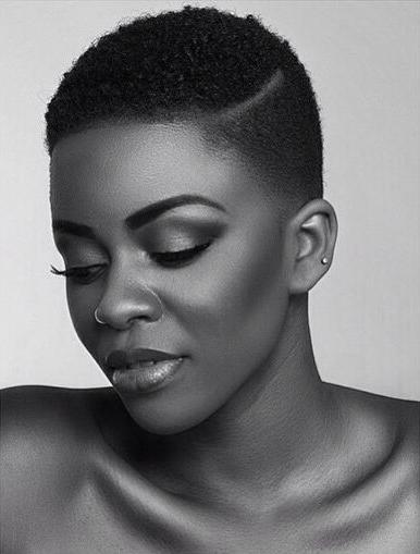 50 Fabulous Short Natural Hairstyles | Herinterest/ Regarding Afro Short Haircuts (View 9 of 20)
