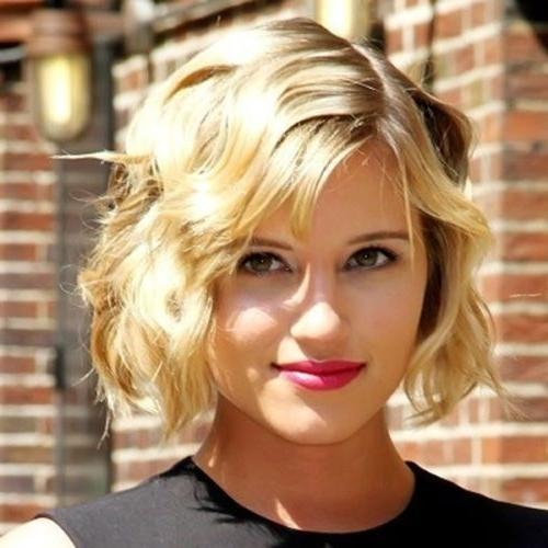 2018 Latest Short Haircuts For Frizzy Wavy Hair