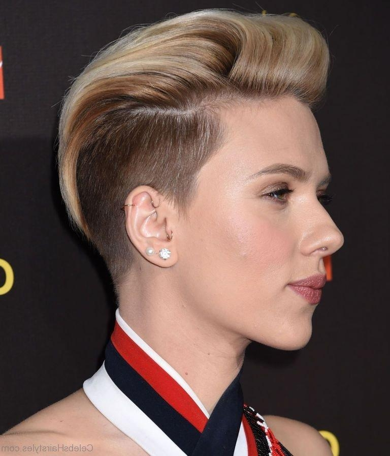 50 Impressive Hairstyles Of Scarlett Johansson Regarding Scarlett Johansson Short Haircuts (View 1 of 20)