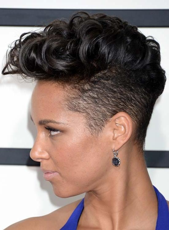50 Latest Edgy Hairstyles For All Hair Types Intended For Edgy Short Haircuts For Black Women (View 7 of 20)