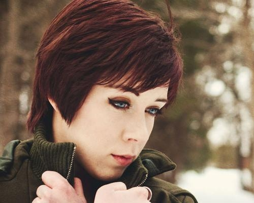 50 Oustanding Short Bob Hairstyles | Creativefan For Short Haircuts That Cover Your Ears (View 17 of 20)