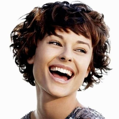 50 Remarkable Short Haircuts For Round Faces | Hair Motive Hair Motive For Short Haircuts Curly Hair Round Face (View 9 of 20)