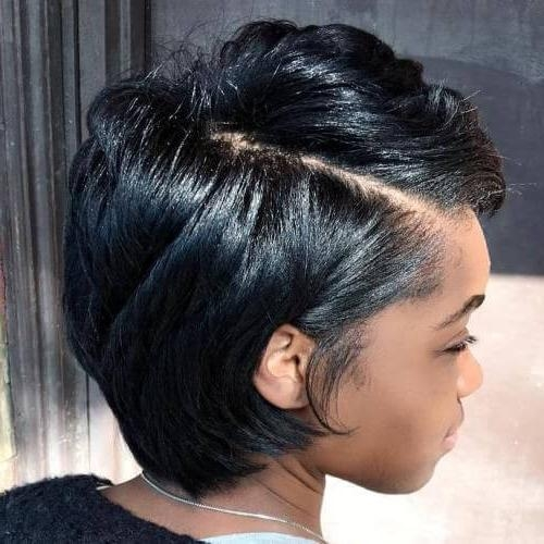 50 Remarkable Short Haircuts For Round Faces | Hair Motive Hair Motive Pertaining To Short Haircuts For Black Women Round Face (View 4 of 20)