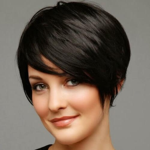 50 Remarkable Short Haircuts For Round Faces | Hair Motive Hair Motive Throughout Short Hairstyles For Round Faces Black Hair (View 7 of 20)