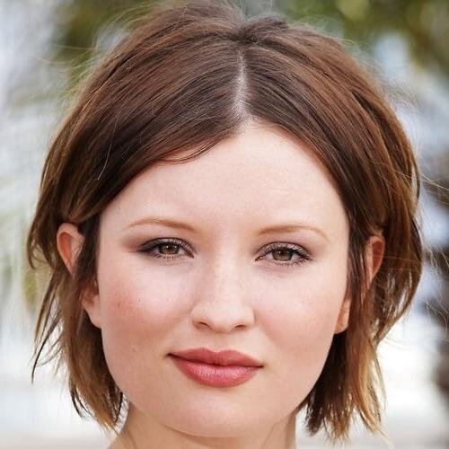 50 Remarkable Short Haircuts For Round Faces | Hair Motive Hair Motive With Regard To Easy Maintenance Short Hairstyles (View 7 of 20)