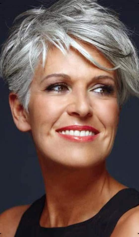 50 Short And Stylish Hairstyles For Women Over 50 Inside Tousled Short Hairstyles (View 4 of 20)