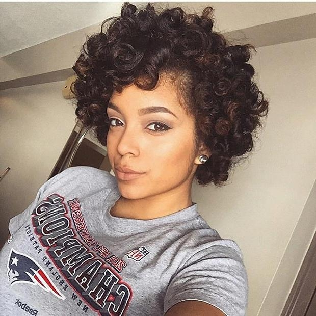50 Short Hairstyles For Black Women | Stayglam For Short Hairstyles For Black Hair (View 16 of 20)