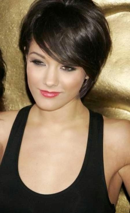 50 Smartest Short Hairstyles For Women With Thick Hair With Regard To Short Haircuts With Wispy Bangs (View 16 of 20)