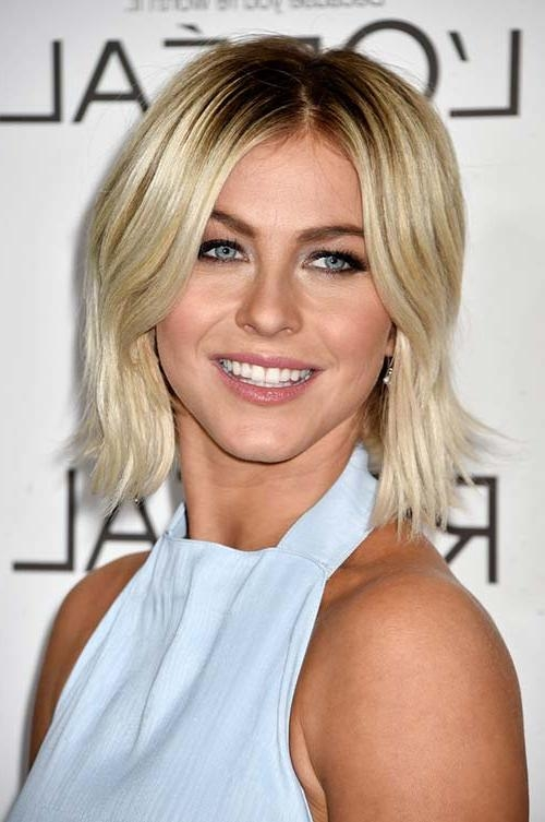 Featured Photo of Center Part Short Hairstyles