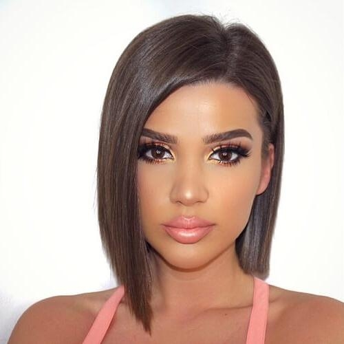 50 Super Chic Short Haircuts For Women | Hair Motive Hair Motive In Short Hairstyles For High Cheekbones (View 6 of 20)