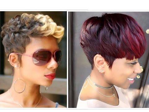 50 Trendy Short Hairstyles For Black Women – Youtube Throughout Black Short Hairstyles (View 13 of 20)