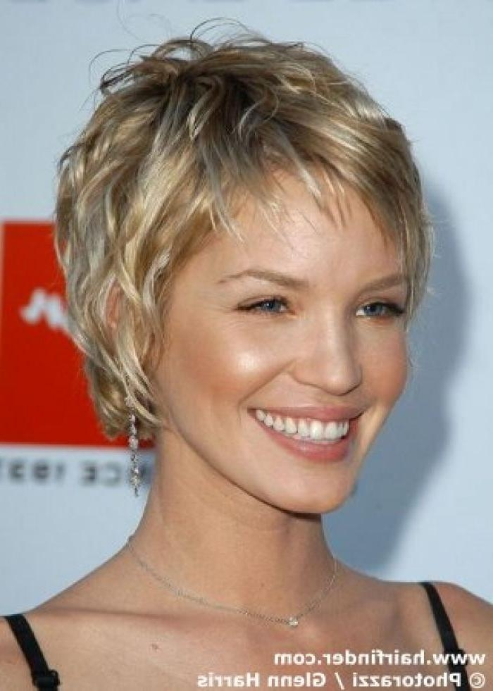 Photo Gallery of Easy Care Short Hairstyles For Fine Hair (Viewing 9 ...