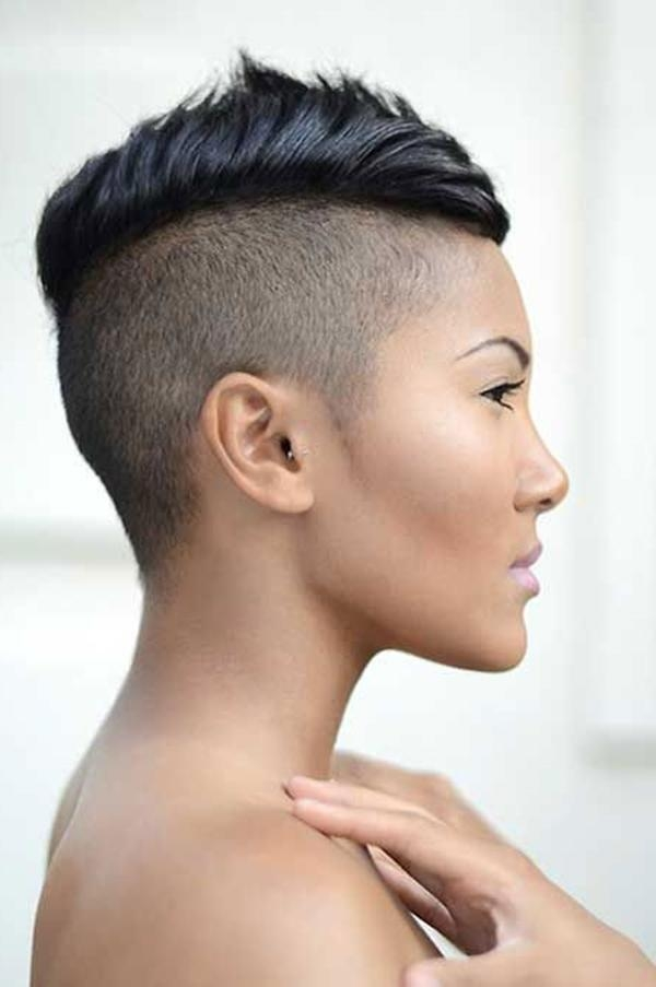 52 Of The Best Shaved Side Hairstyles With Regard To Short Hairstyles With Both Sides Shaved (View 15 of 20)