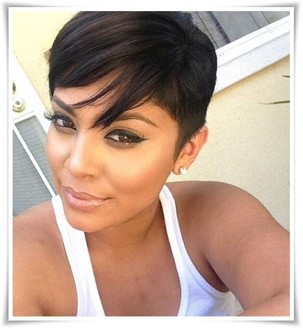 55 Winning Short Hairstyles For Black Women In Short Haircuts On Black Women (View 10 of 20)