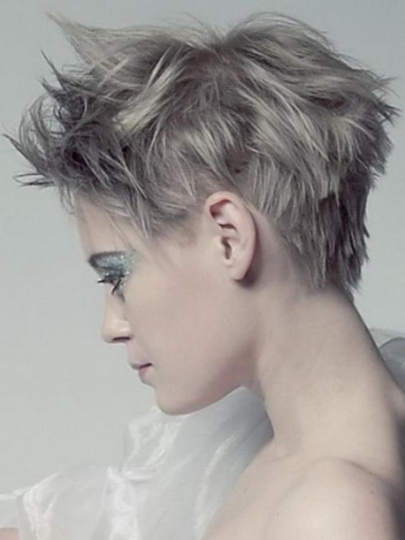 57 Best Hair Images On Pinterest | Hairstyles, Short Hair And Braids In Dramatic Short Hairstyles (View 6 of 20)
