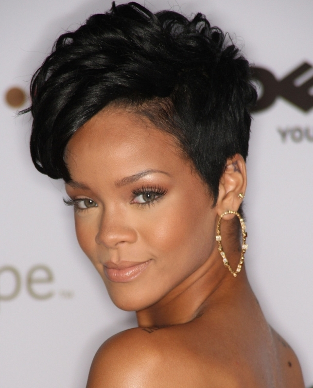 58 Great Short Hairstyles For Black Women Pertaining To Short Haircuts For Black Women With Fine Hair (View 4 of 20)