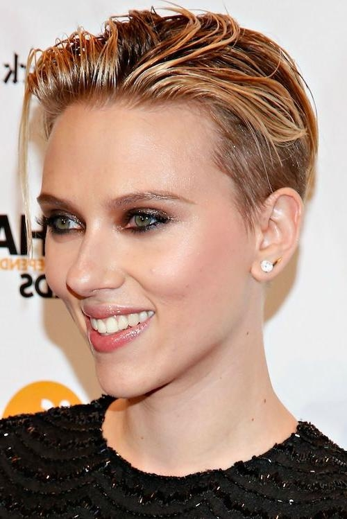 58 Scarlett Johansson Hairstyles, Haircuts You'll Love 2017 Regarding Scarlett Johansson Short Hairstyles (View 9 of 20)