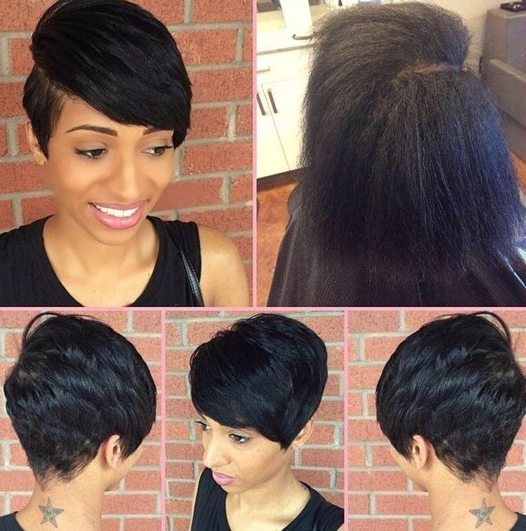 588 Best Relaxed Hair Can Be Healthy Too! Images On Pinterest Within Short Haircuts For Relaxed Hair (View 3 of 20)