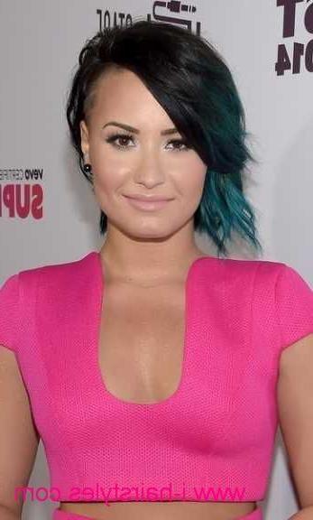 59 Mejores Imágenes De Hair Styles En Pinterest | Peinados, Corte Inside Demi Lovato Short Hairstyles (View 3 of 20)