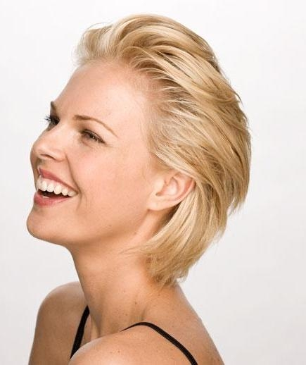 6 Sexy Short Hairstyles For Women Within Short Hairstyles Swept Off The Face (View 5 of 20)