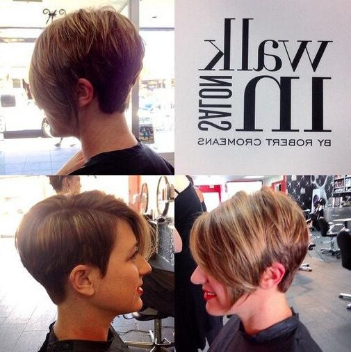 60 Cool Short Hairstyles & New Short Hair Trends! Women Haircuts 2017 Throughout Asymmetrical Short Haircuts For Women (View 10 of 20)