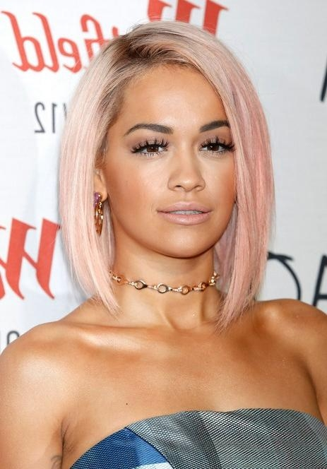 60 Hottest Celebrity Short Haircuts For 2018 | Styles Weekly In Rita Ora Short Hairstyles (View 3 of 20)